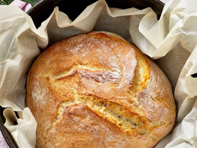 chlebík bez mísení recept