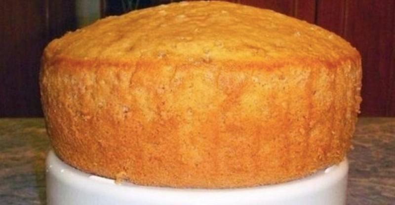Světlé piškotové těsto s limonádou na dokonalý dort recept