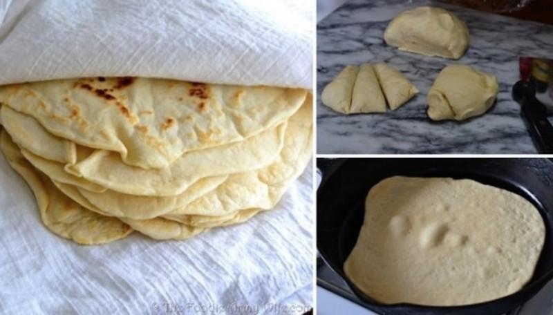 domácí tortilly recept