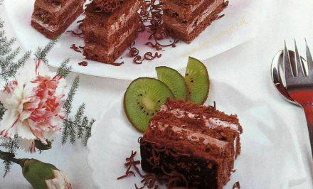 Báječné kakaové rezy
