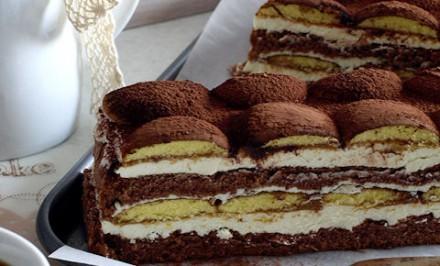Lákavý, výborný dezert Latte Macchiato