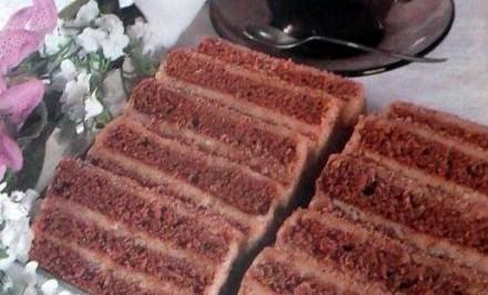 Báječný kakaový koláč bez lepku