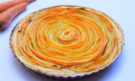 Zeleninový koláč s ktorým sa zatočíte po špirále chuti