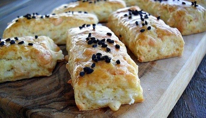Fenomenální slané sýrové tyčinky
