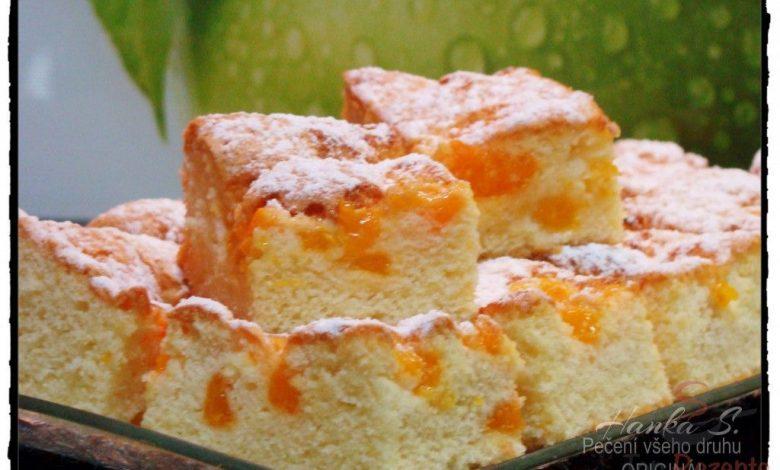 Bublanina s mandarinkami