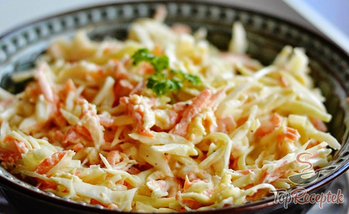 Coleslaw salát – stará česká klasika