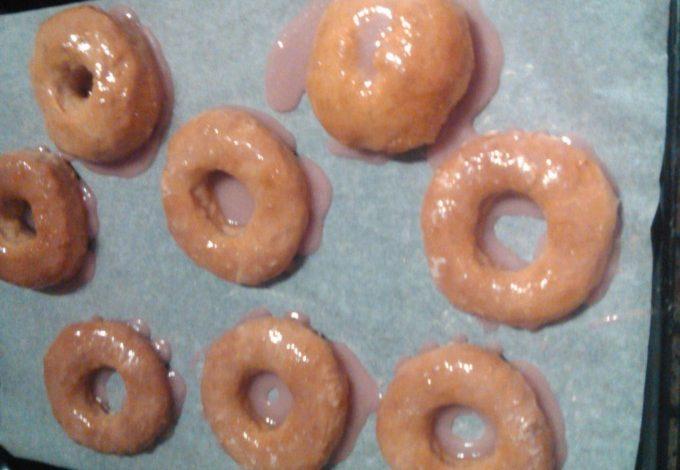 Donuty – těsto