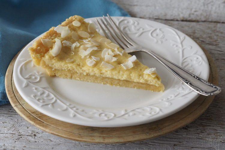 Bezlepkový limetkový koláč