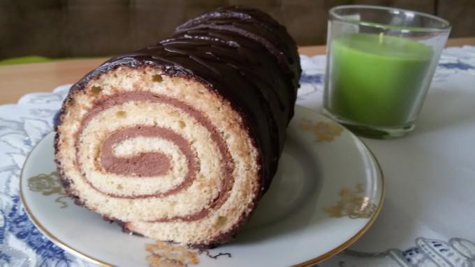 Nejjednodušší čokoládová roláda