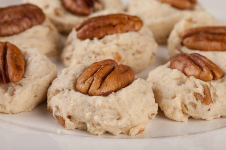 Rychlé křupavé pekanové sušenky