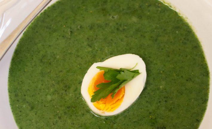 Krémová žihľavová polievka