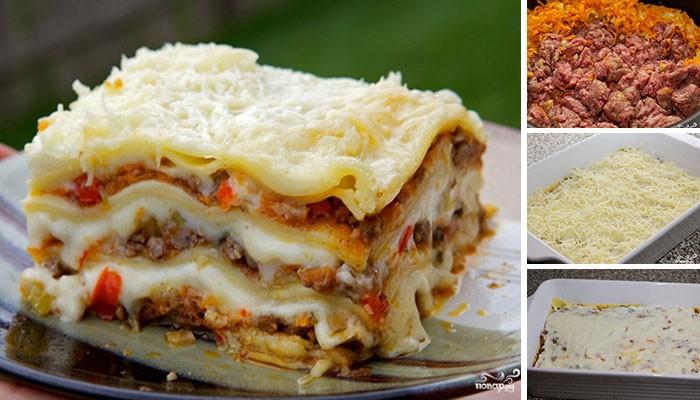 Vynikající lasagne – fotopostup krok za krokem