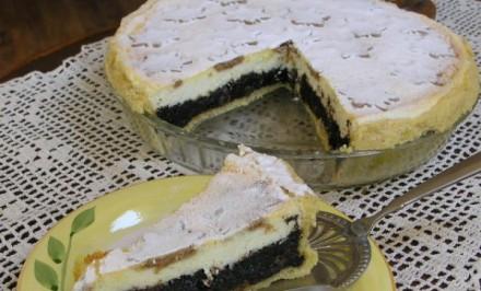 Poctivý makovo-tvarohový koláč
