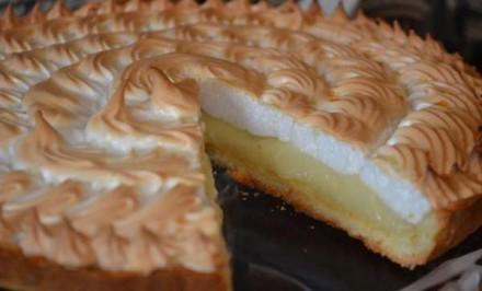 Báječná citrónová torta so snehovou čapicou
