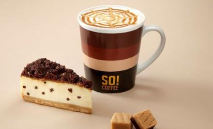 Bodkovaný karamelový cheesecake. Tá správna mňamka ku kávičke.