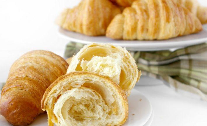 Vynikajúce raňajkové croissanty