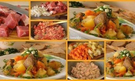 Rýchle bravčové mäso chutné a šťavnaté