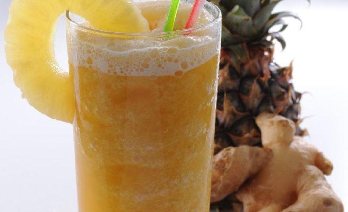 Zázvorovo – ananásový džús – na podporu trávenia, imunitu a chudnutie