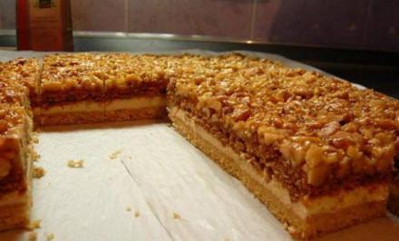 Jednoducho famózny MEDOVO-ORECHOVÝ koláčik