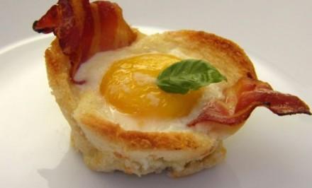 Rýchle raňajky – chrumkavé košíčky