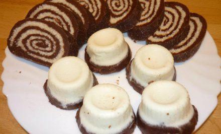 Nepečená medová roláda z keksov. Jednoduchšiu roládu ste ešte nerobili :)