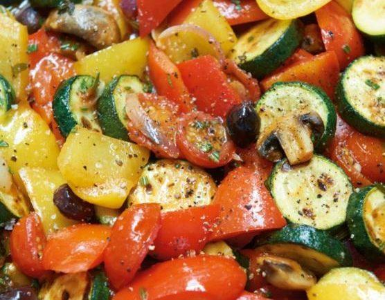 Rýchla zeleninová panvica (Eintopf)