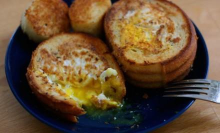 Vajcia v koši