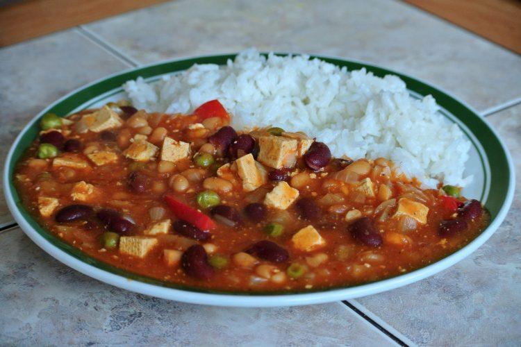 Chilli con tofu