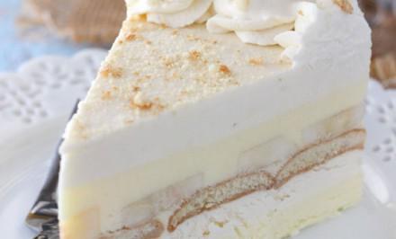 Báječná nepečená banánovo – pudingová torta