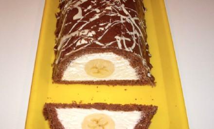 Zmrzlinový tunel s banánom