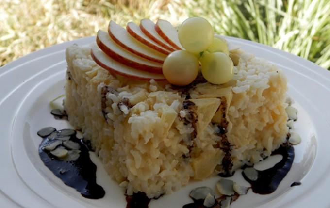 Rýžový nákyp