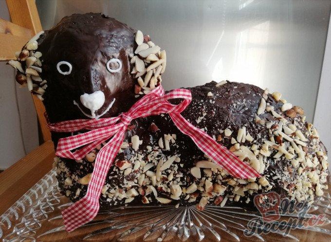 Čokoládový velikonoční beránek