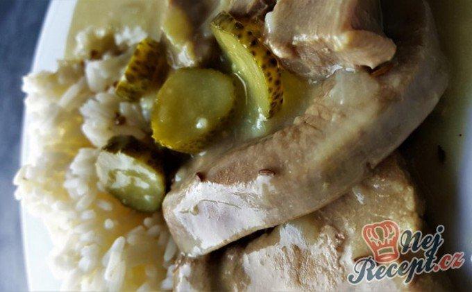 Krůtí znojemská s rýži