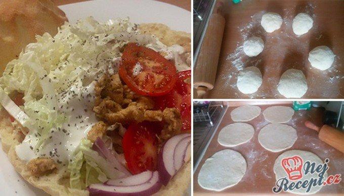 Domácí kuřecí kebab – FOTOPOSTUP