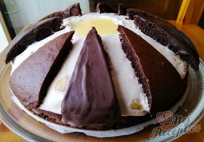 Banánový dort Vajíčko