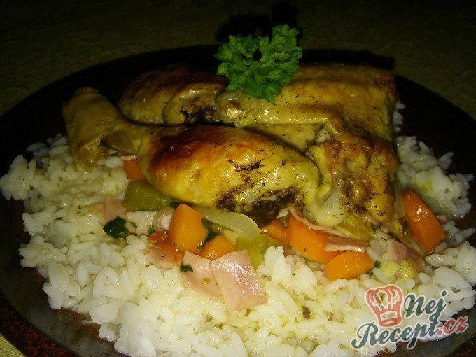 Kuře na zelenině a rozmarýnu