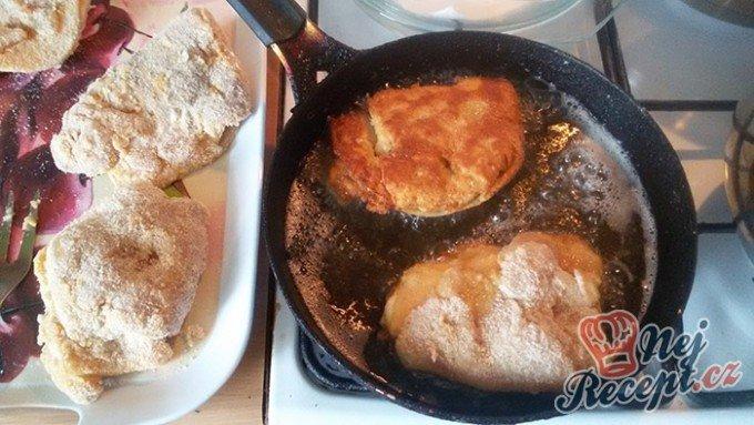 Tradiční smažené gordon bleu