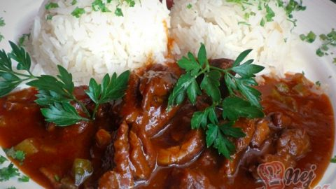 Azu po tatarsku s jasmínovou rýží