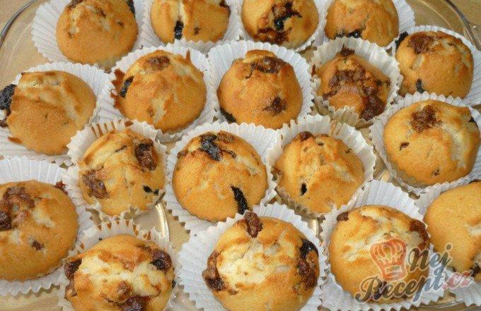 Studentské muffiny – hrnkový recept