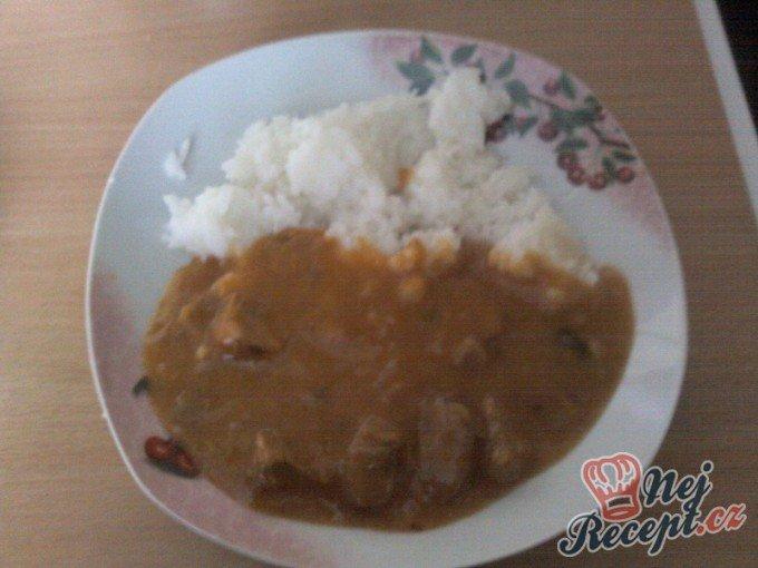 Azu po tatarsku s rýži