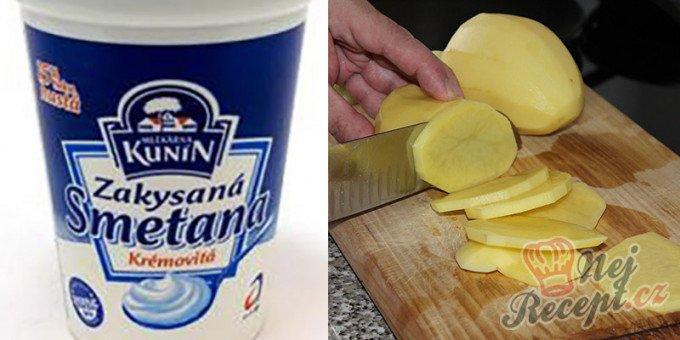 Máte doma brambory a zakysanou smetanu? Za 15 minut máte perfektní jídlo pro návštěvu.