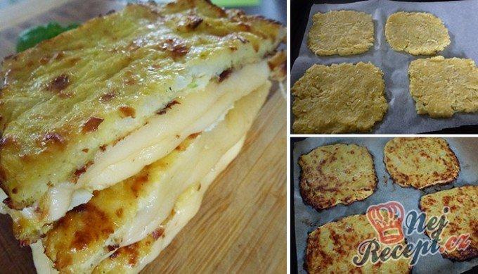 Fantastický v troubě zapečený křupavý sýr bez smažení a klasického trojobalu