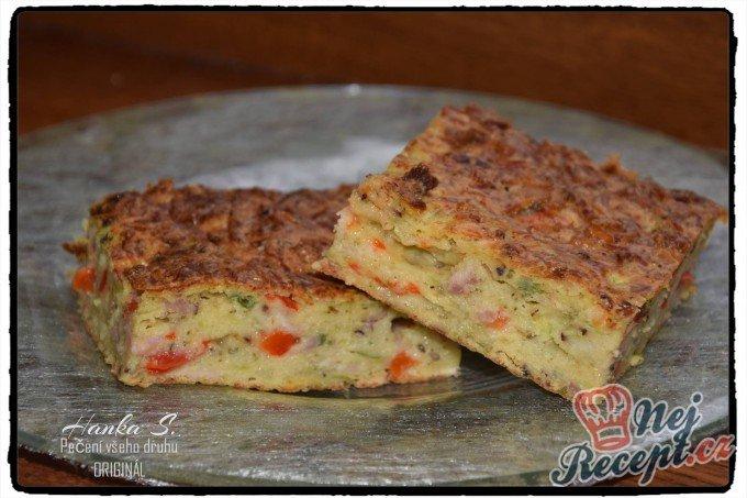 Cukeťák – slaný koláč se strouhaným sýrem