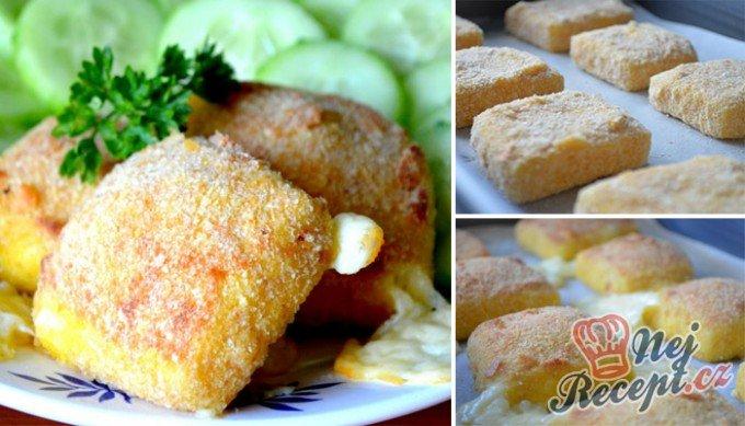 Výborný sýr v trojobale pečený v troubě – chutná jako smažený!