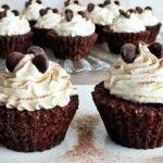 Kakaové muffiny s podmáslím