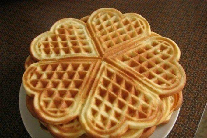 Křupavé wafle