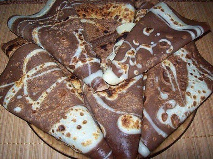 Neodolatelné kakaové palačinky