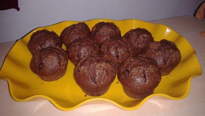 Exkluzivní čokoládové muffiny z kefíru