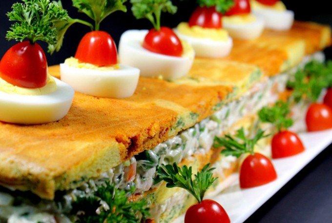 Slaná chuťovka – ,,Ruský salát,,