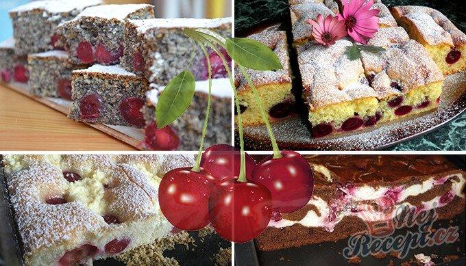 10 skvělých sezónních receptů na dezerty s třešněmi
